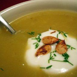 Acorn Squash and Apple Soup