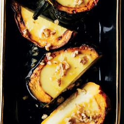Acorn Squash with Coconut Custard