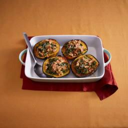 Acorn Squash with Quinoa and Ground Turkey
