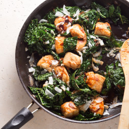 Add Sriracha and Coconut to Chicken For a Spicy-Sweet Stir Fry