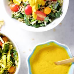 Aderezo de zanahoria y jengibre