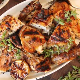 Adrienne's Garlic Chicken