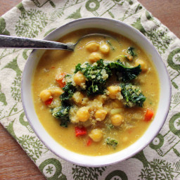 African Curried Chickpea Stew