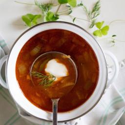 After Party Soup. Seljanka
