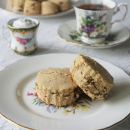 Afternoon Tea Scones with Jam and 'Clotted Cream' (paleo, AIP)