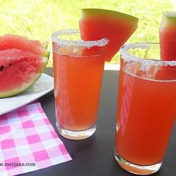Agua de sandía - Watermelon Drink