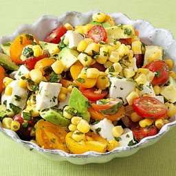 Aida's Corn, Tomato and Avocado Salad