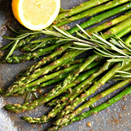 AIP Rosemary Grilled Asparagus
