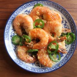 Air-Fried Salt and Pepper Shrimp