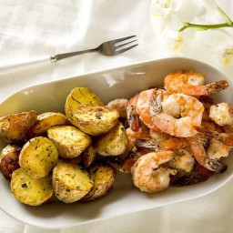 Air Fried Salt and Pepper Shrimp