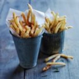 Air-Fried Seasoned French Fries