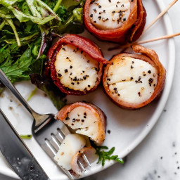 Air Fryer Bacon Wrapped Scallops
