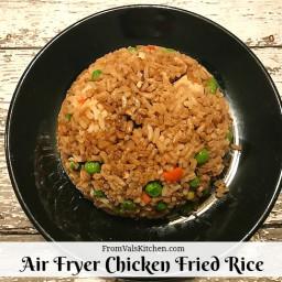 Air Fryer Chicken Fried Rice