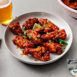 Air Fryer Korean Fried Chicken Recipe · i am a food blog