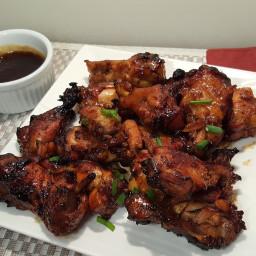 Air Fryer Pressure Cooker Honey Bourbon Chicken Wings