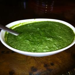 Peruvian Style Aji Verde Sauce