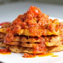 Akara Waffles