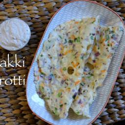 akki rotti recipe | chawal ki roti recipe | rice flatbread recipe