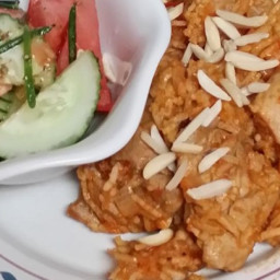 Al Kabsa - Traditional Saudi Rice and Chicken
