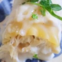 Alfredo Chicken Lasagna Rollups {Classico Make it Your Own Challenge} and G