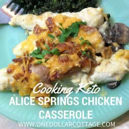 Alice Springs Chicken Casserole