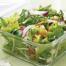 All-You-Can-Eat Salad with Lemon-Basil Vinaigrette