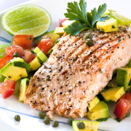 "Allison's ""Biggest Loser Winner"" Grilled Citrus Salmon"
