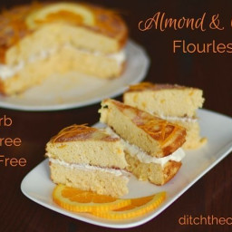 Almond And Orange Flourless Cake