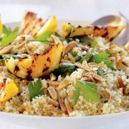 Almond and pistachio dukkah couscous