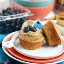 Almond Butter Banan Bread Muffins
