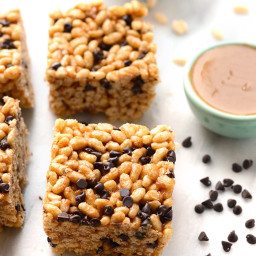 Almond Butter Brown Rice Crispy Treats