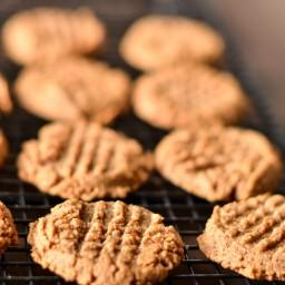 Almond Butter Cookies - Gluten Free, Sugar Free