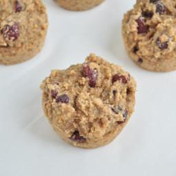 Almond Butter Cranberry Muffins