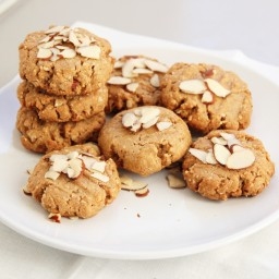 Almond Butter Oat Cookies