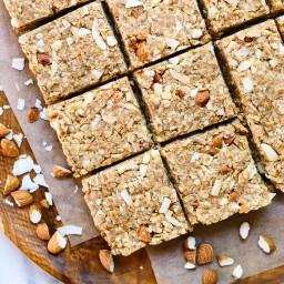 Almond Coconut Granola Bars
