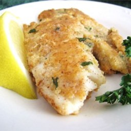 Almond-Crusted Tilapia