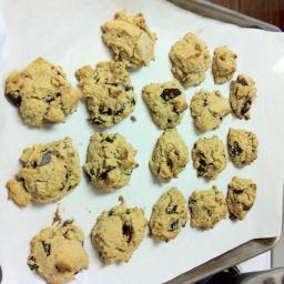 Almond Flour Chocolate Chunk Cookies