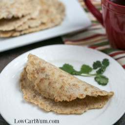 Almond Flour Low Carb Tortillas - Egg Free Keto Wraps