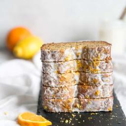 Almond Flour Orange Lemon Poppy Seed Bread {Paleo, GF, DF} • Fit Mitte