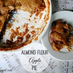 Almond Four Apple Pie (vegan and gluten-free)
