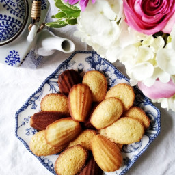 Almond Madeleines