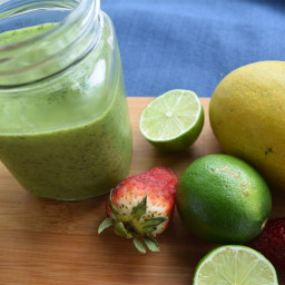 Almond Matcha Superfood Smoothie