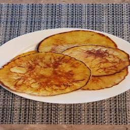Almond Milk Pancakes (Thin)