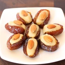 Almond Stuffed Dates