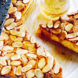 Almond Syrup Cake