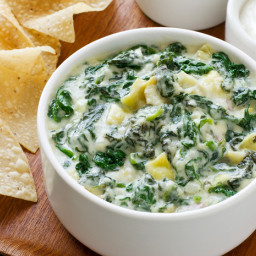 Almost-Famous Spinach-Artichoke Dip