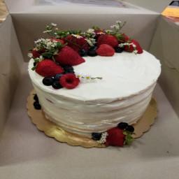 Almost Scratch Cake