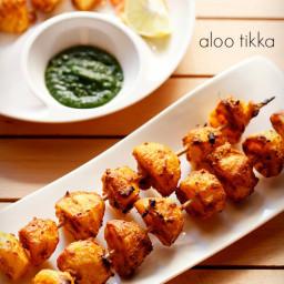 aloo tikka recipe | tandoori aloo recipe