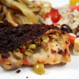 Alton Brown's Smoked Paprika Chicken and Potatoes
