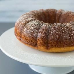 Amaretto Bundt Cake